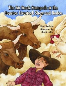 The Fat Stock Stampede at the Houston Livestock Show and Rodeo -  <br/>