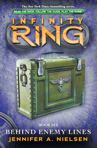 Infinity Ring Book 6: Behind Enemy Lines - Jennifer A. Nielsen<br/>