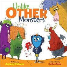 Unlike Other Monsters - Audrey  Vernick<br/>